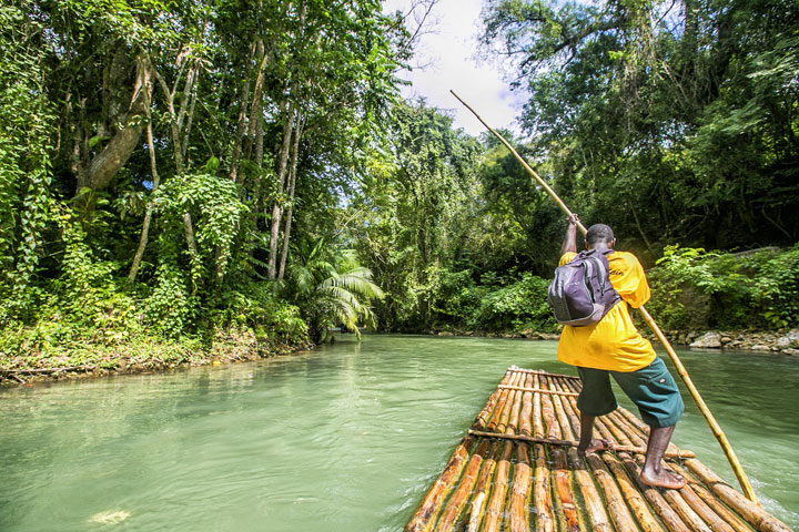 Bamboo River Rafting from Montego Bay